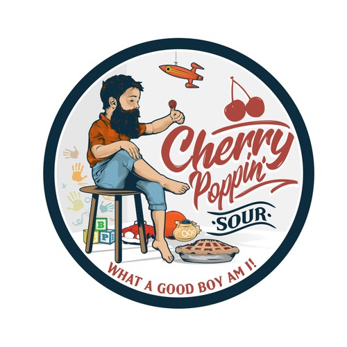 Cherry Poppin' sour