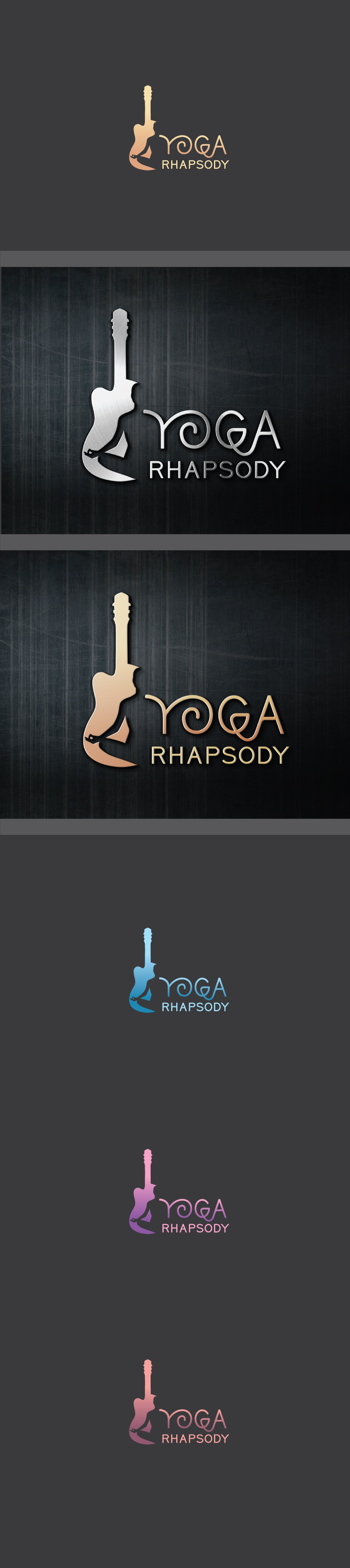 Wanted - logo & website for yoga and live music business