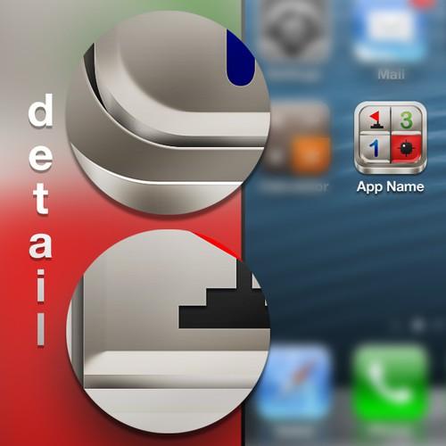 Minesweeper icon design