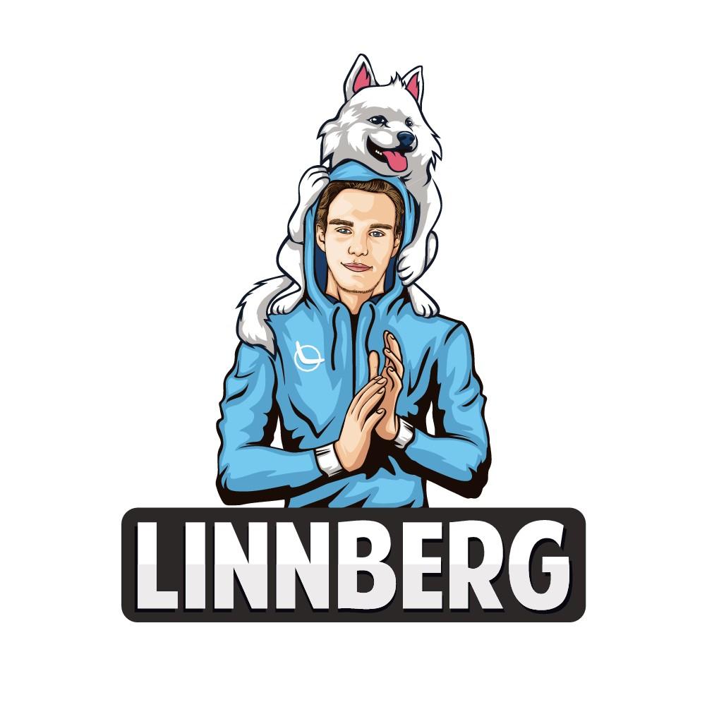 Twitch Streamer Logo design for «Linnberg»