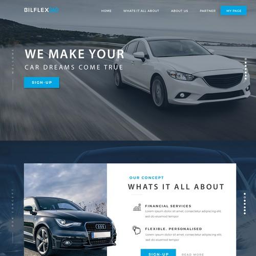 Car Leasing concept