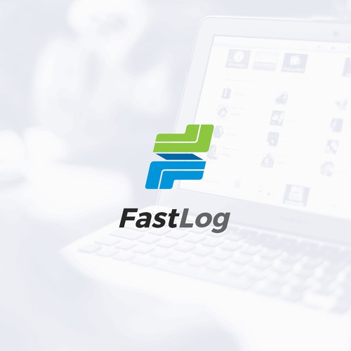 FastLog logo for feedback app
