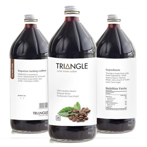TRIANGLE cold-brew coffee
