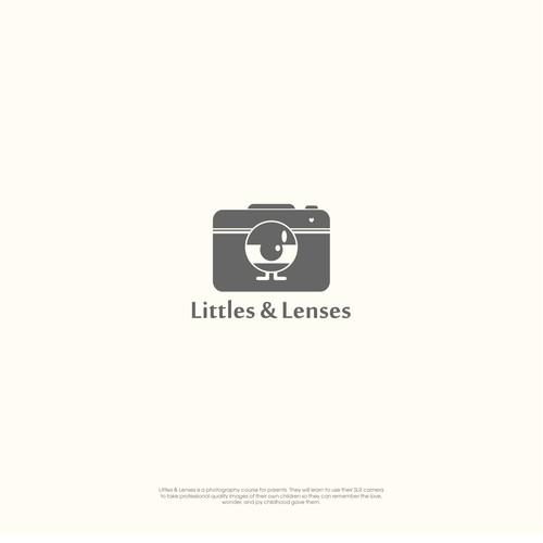 Littles & Lenses Photography Logo