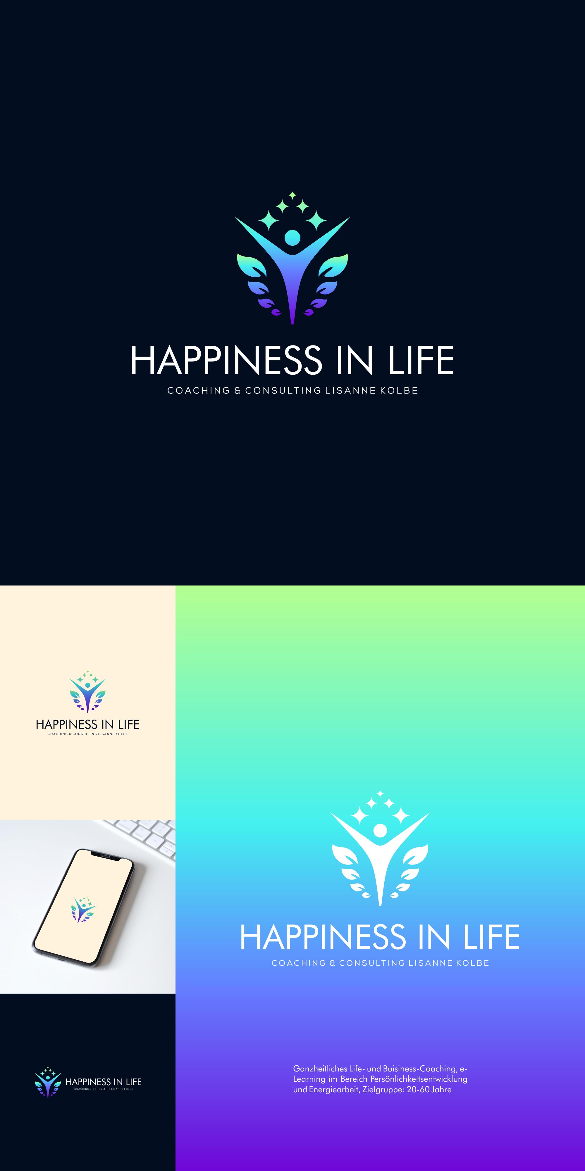 Gestalte ein Ganzheitliches Life-und Buisiness-Coach Logo