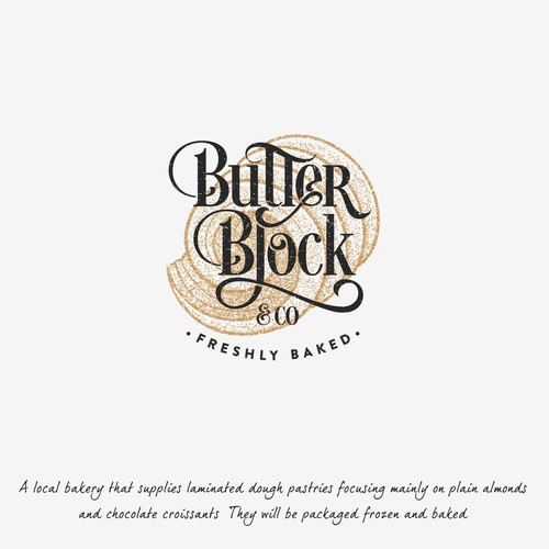 Vintage bakery and pastry logo
