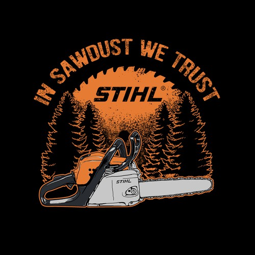 Graphic tees for STIHL