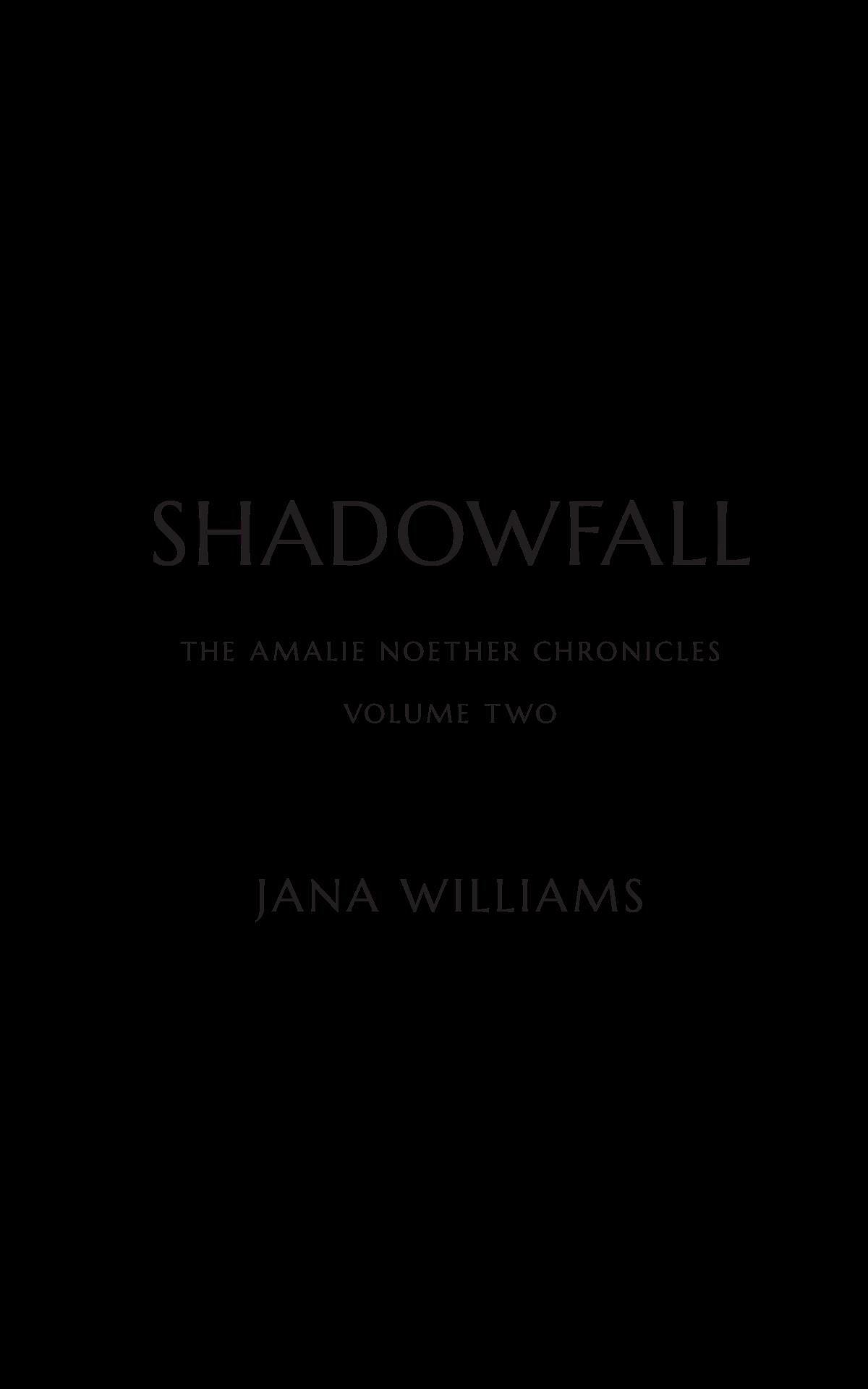 SHADOWFALL a novel