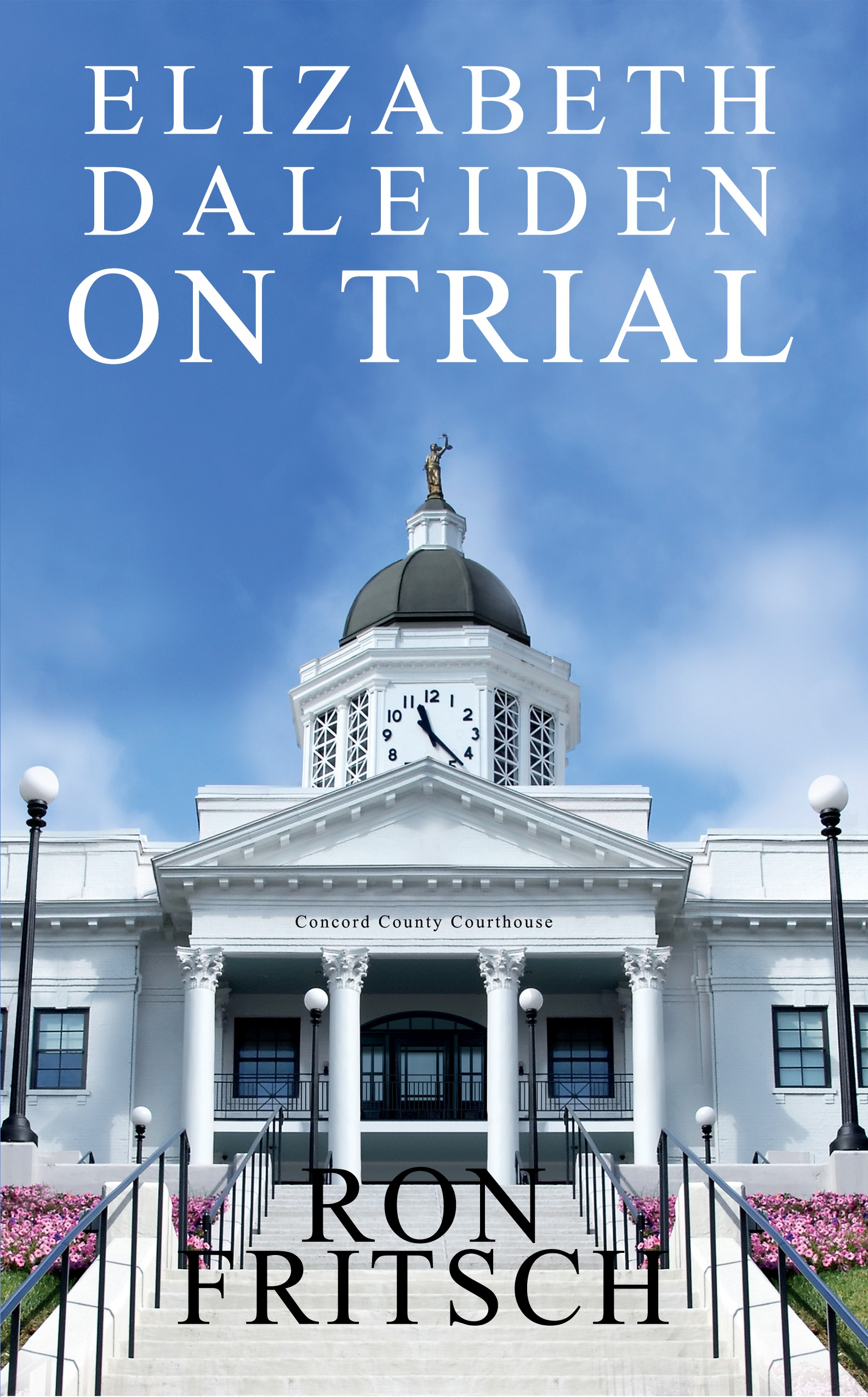 Edit a photo for a cover for my novel, Elizabeth Daleiden on Trial