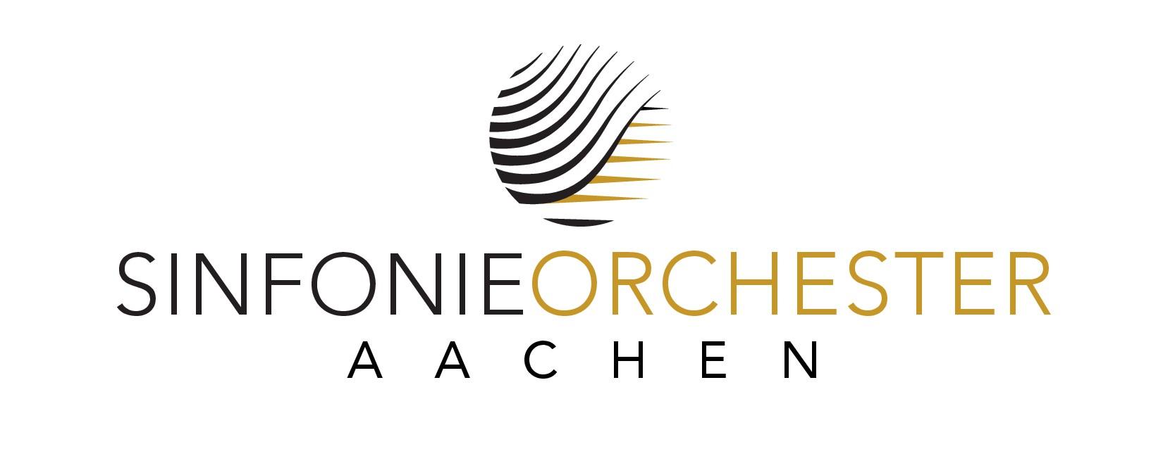 Powerful modern logo for aspiring orchestra