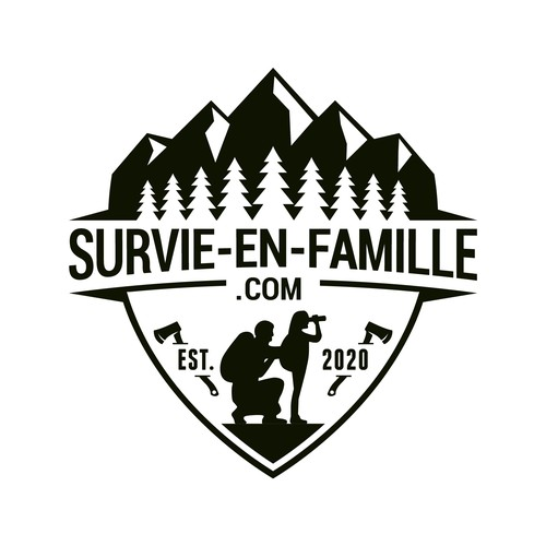 logo concept for survie-en-famille
