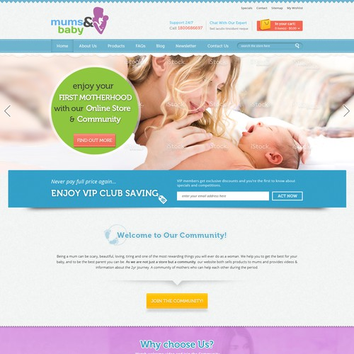 Create An Amazing Brand & Online Store for Mums & Baby