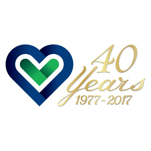 Logo for 40th Anniversary