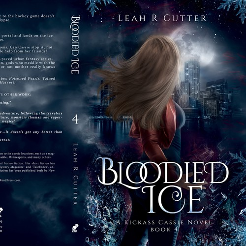 """Bloodied Ice"" - A kickass Cassie novel' by Leah R Cutter"