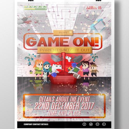 Game On Poster V1