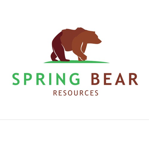 Spring Bear Resources Logo Design