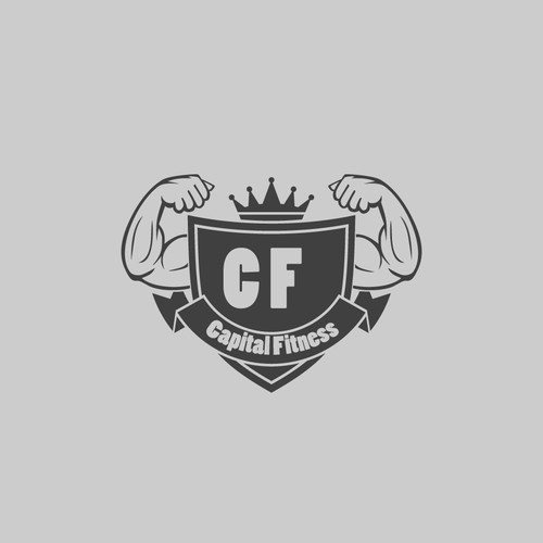 Logo concept for fitness in UAE
