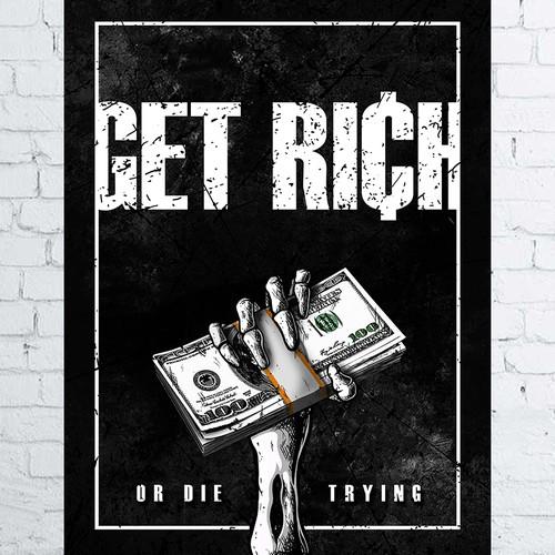Hardcore motivational poster