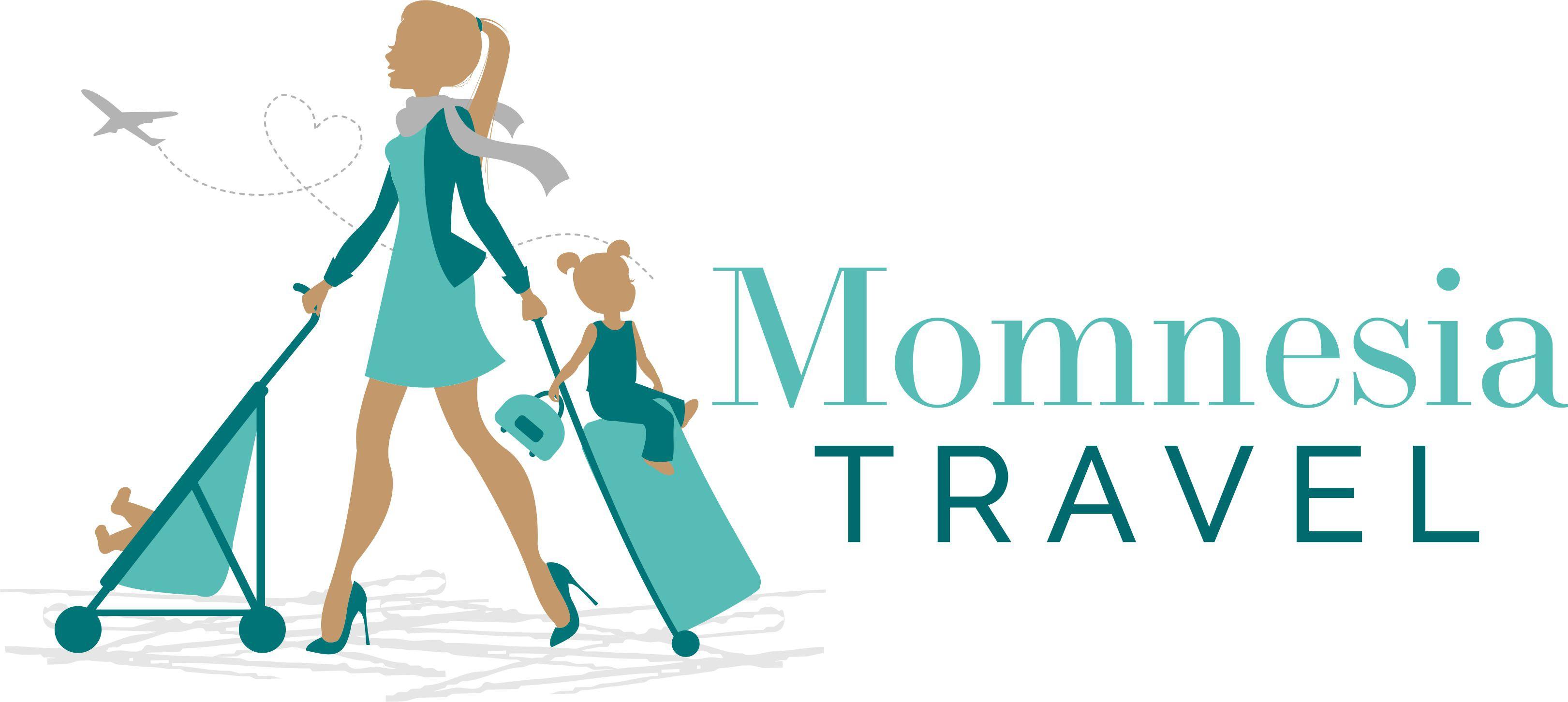 Design a logo for Momnesia Travel-a virtual family travel concierge