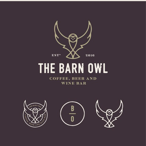 Bold Design for Barn OWl