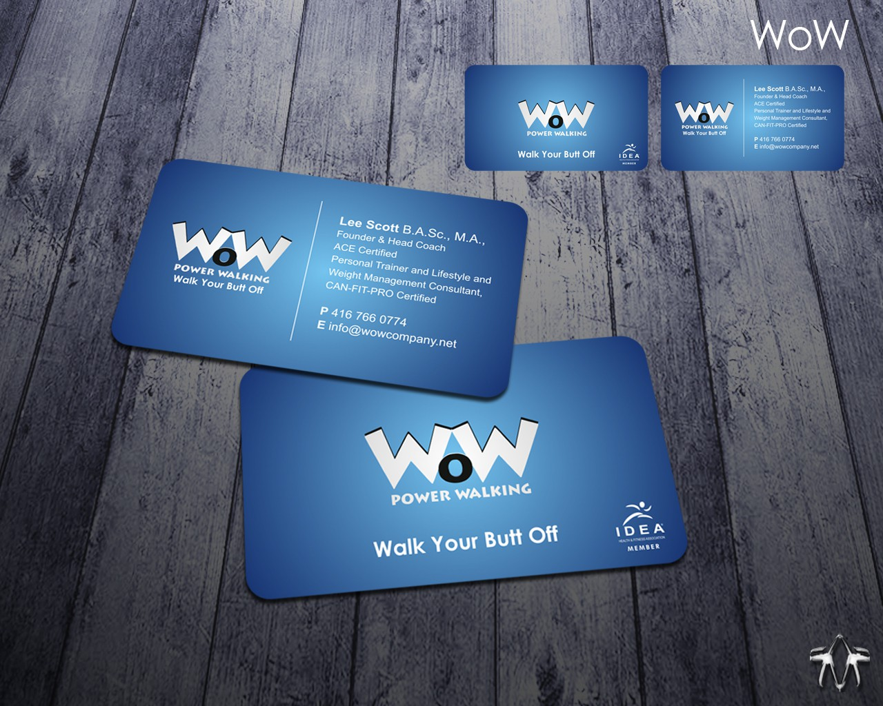 Create the next stationery for WoW Power Walking