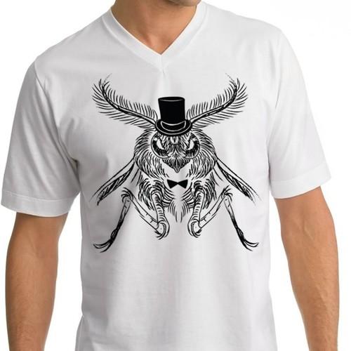 Moth elegant shirt