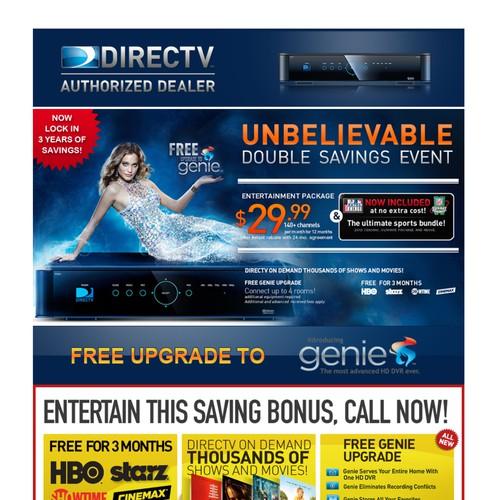 New email wanted for DIRECTV