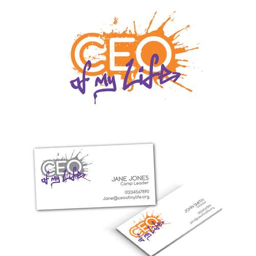 Creative, exciting, youthful logo design