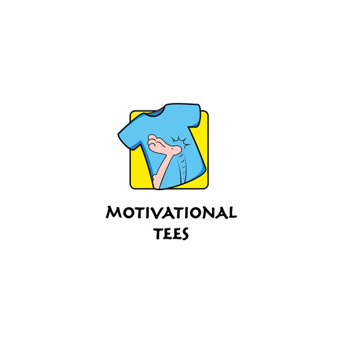 logo to motivate and inspire positive vibes