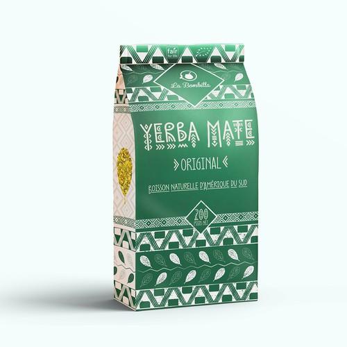 Yerba Mate Packaging Design