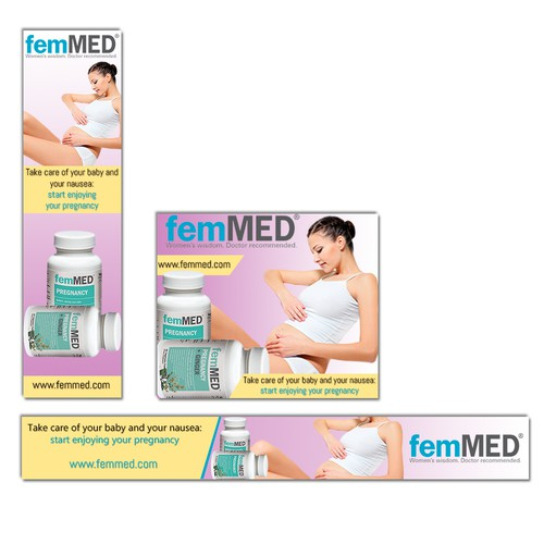 Create Warm, Engaging Banners for our Prenatal Supplement
