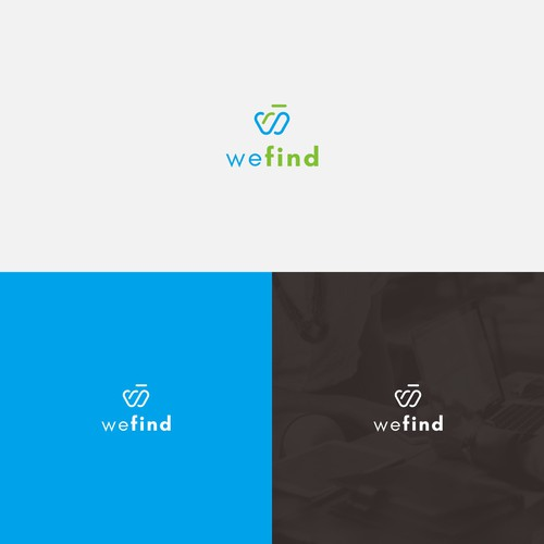 Simple Logo Design for WeFind