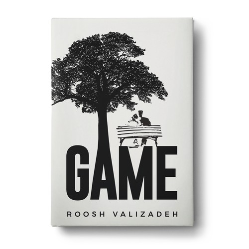 "Cover design for book ""Game"""