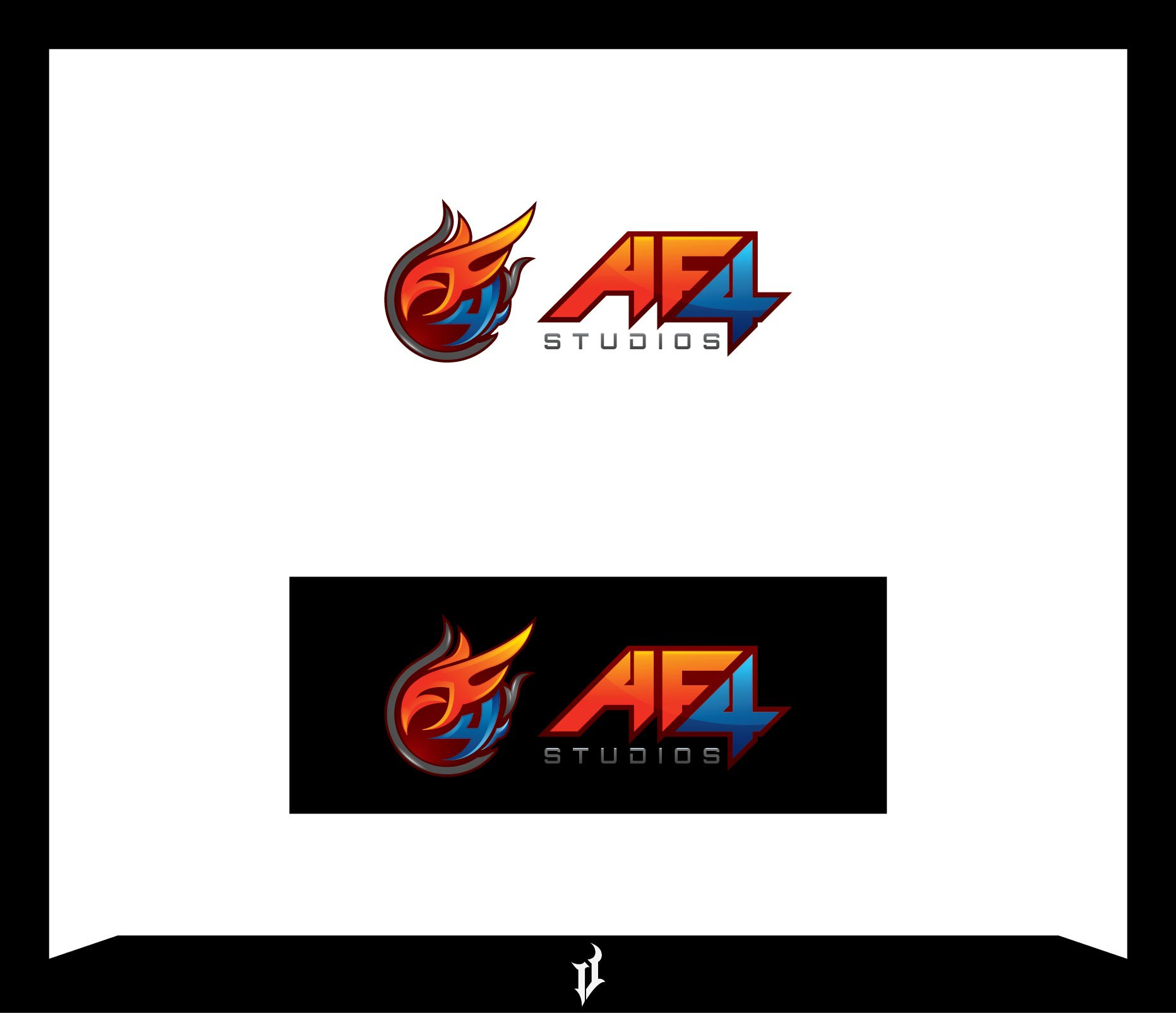 Design a logo for the next viral game studio.