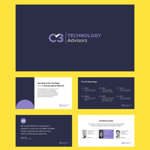 Presentation Template for C3