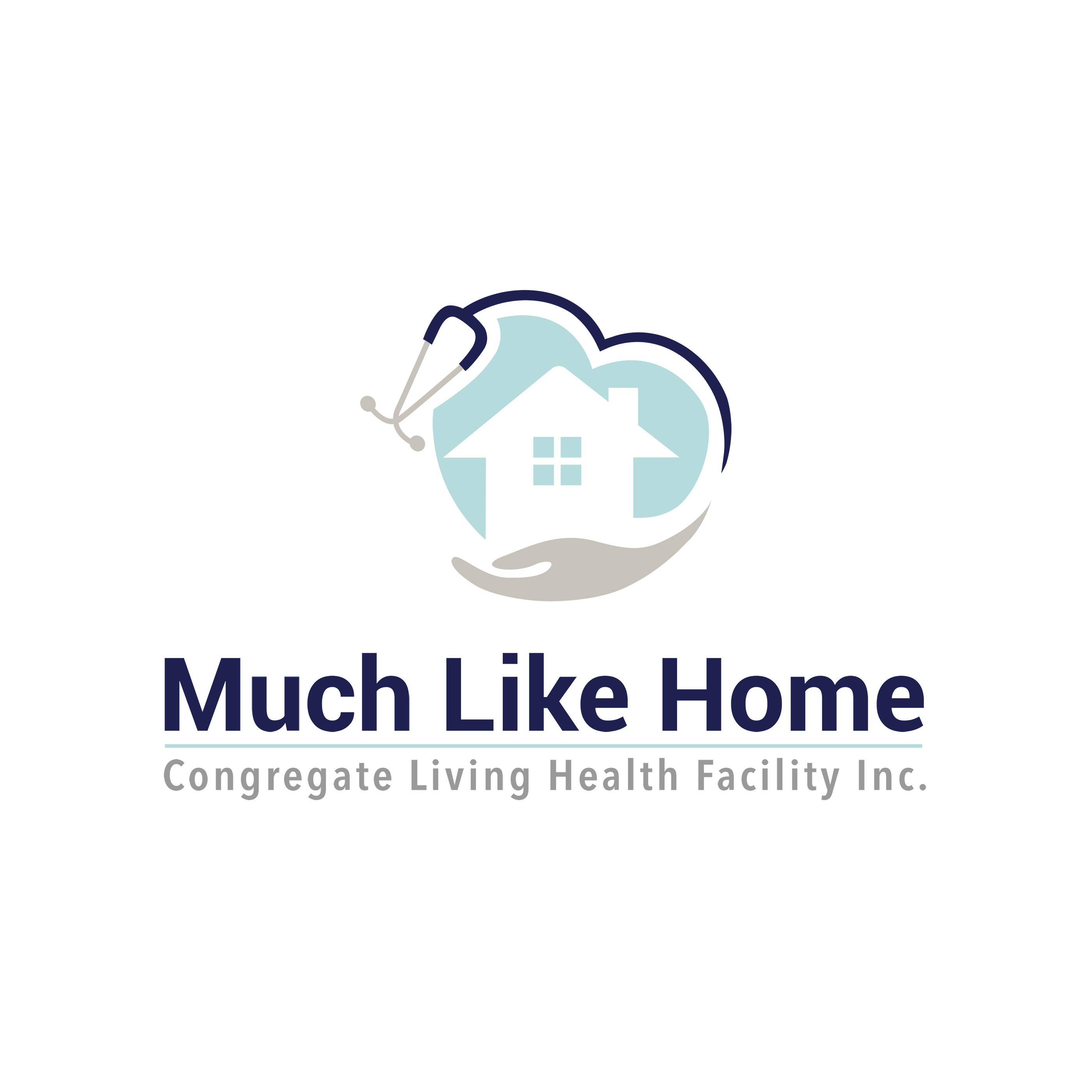 Design a healthcare appropriate logo for Much Like Home CLHF