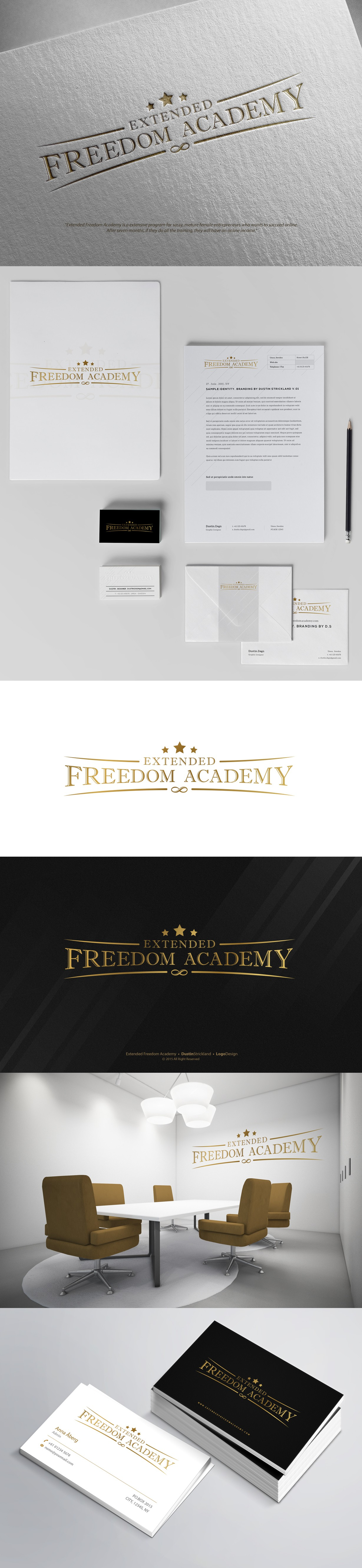 Create a classy beautiful logo for Extended Freedom!