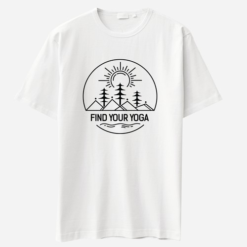"""Find Your Yoga"" t-shirt"