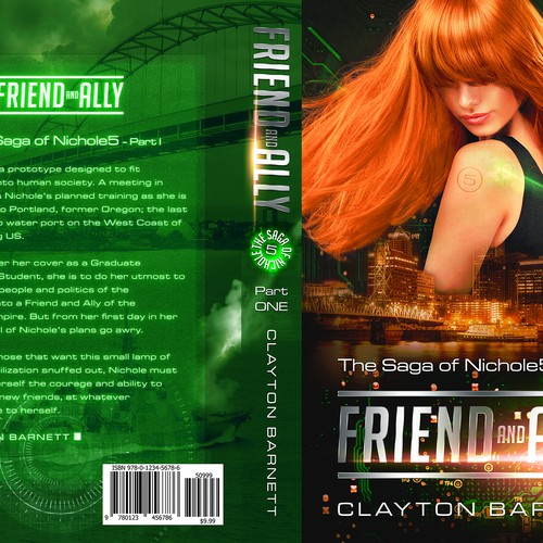 Book Cover for Friend and Ally