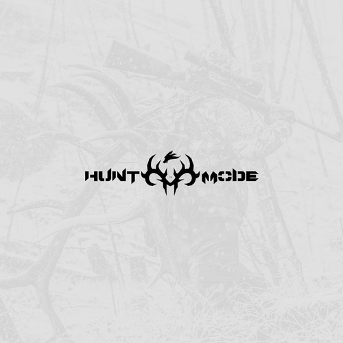 Bold logo for hunting blog