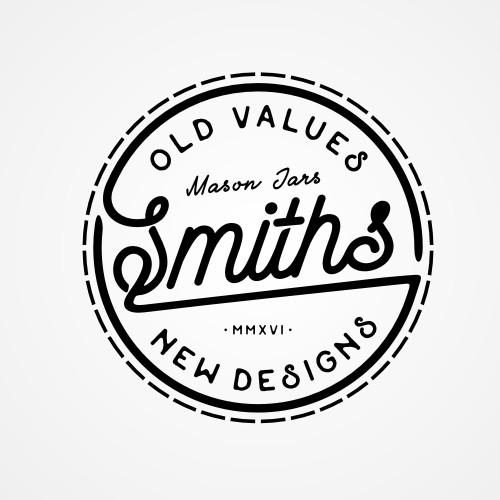 Logo Concepts for Smiths - Mason Jar