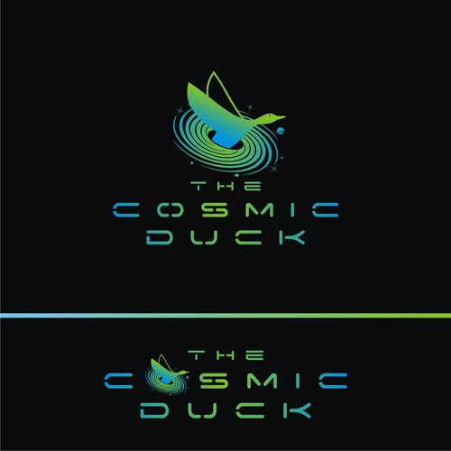 """DJ/Music Producer looking for an artist logo as """"The Cosmic Duck"""