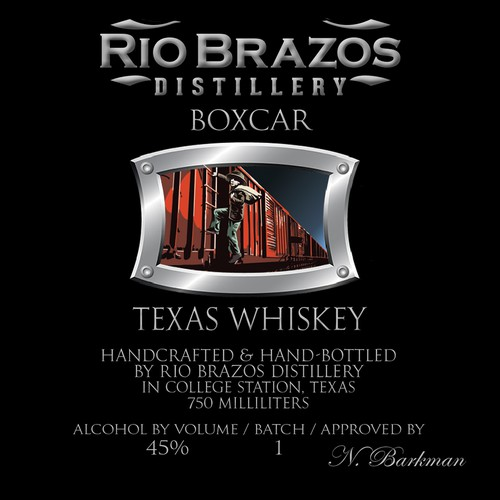 Small-batch distillery needs dramatic hobo for craft whiskey label