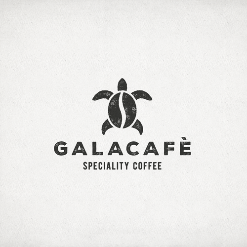 Hipster logo with rustic feel for Galacafe