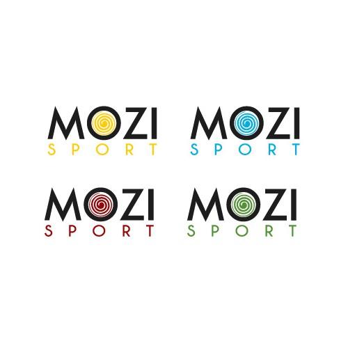 modern logo of gym clothing