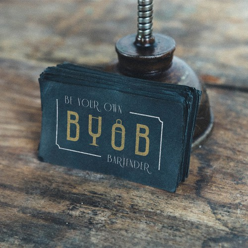 Be Your Own Bartender logo