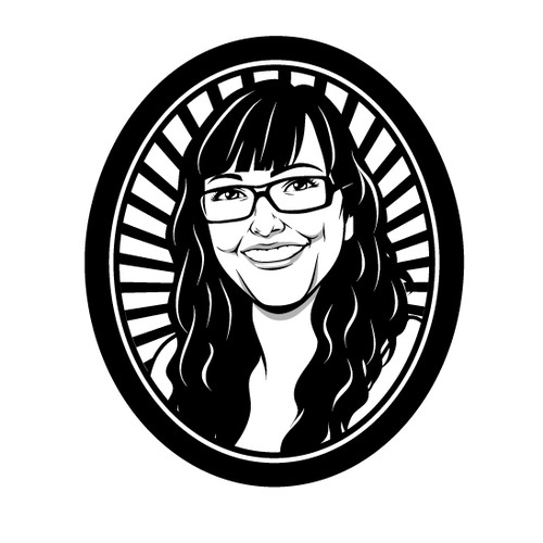 Create a Character-logo to a scandinavian hairdresser e-commerce site!