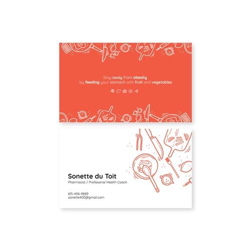 Sonette - Bussiness Card