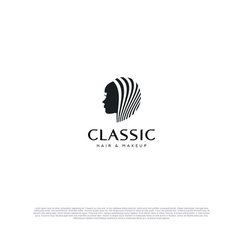 Logo for Classic Hair + Makeup