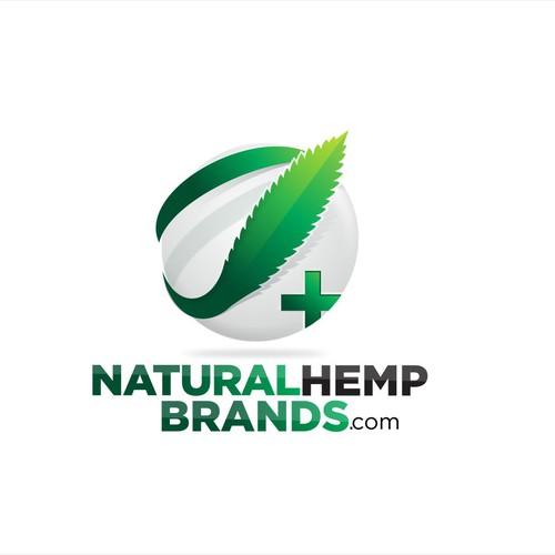 Natural Hemp Logo design